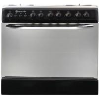 بوتاجاز وفرن غاز من وايت بوينت، 5 شعلة - أسود WPGC 8060 BA