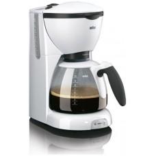 كوفي ميكر لتحضير القهوة من براون KF 520 - لون ابيض